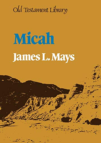 9780334010166: Micah (Old Testament Library)