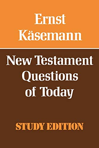 9780334010999: New Testament Questions for Today