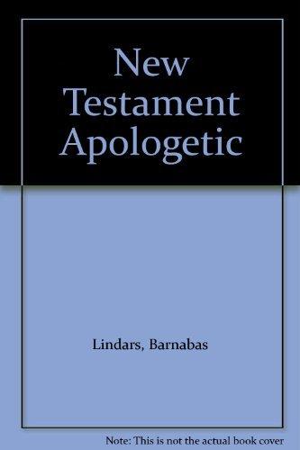 New Testament Apologetic: Lindars, Barnabas