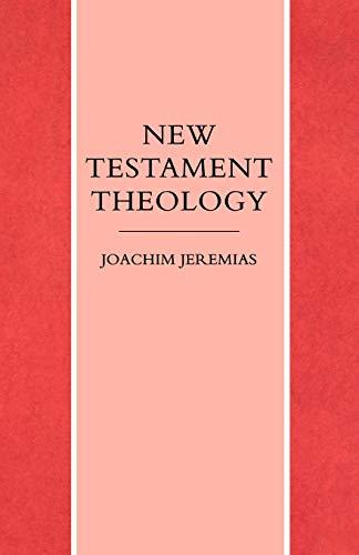 9780334011446: New Testament Theology (v. 1)