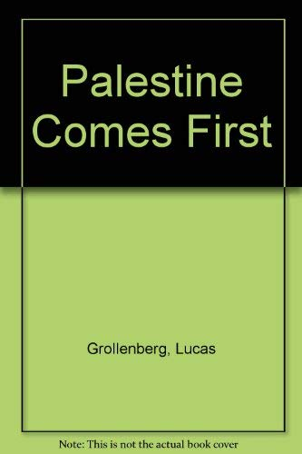 Palestine Comes First