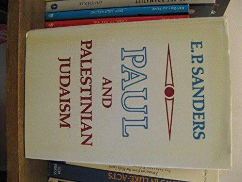 9780334012276: Paul and Palestinian Judaism
