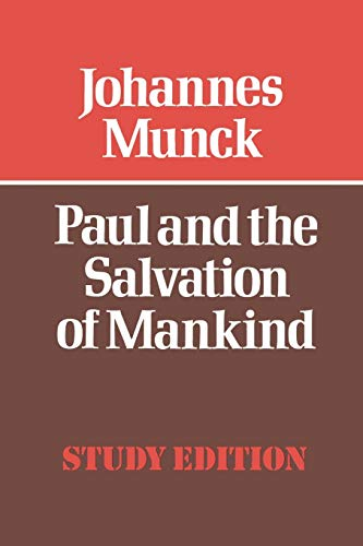 9780334012290: Paul and the Salvation of Mankind