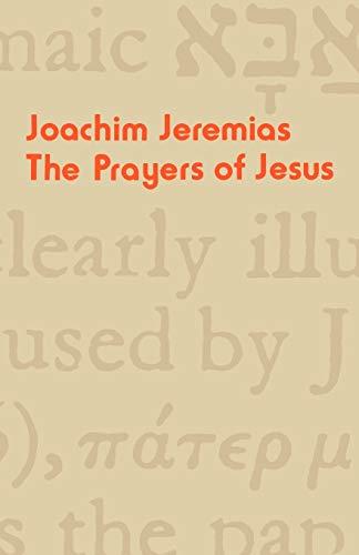 9780334012511: The Prayers of Jesus