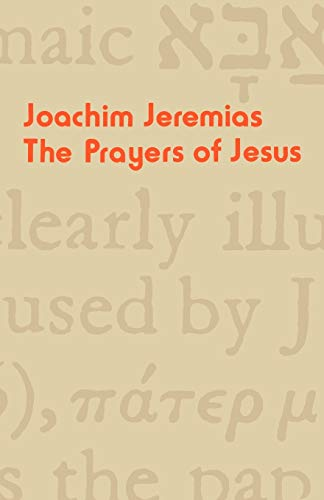 9780334012511: The Prayers of Jesus