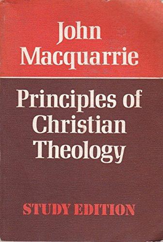 9780334013082: Principles of Christian Theology