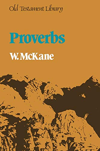 9780334013419: Proverbs (Old Testament Library)