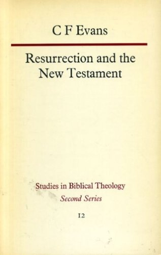 9780334013945: Resurrection and the New Testament (Study in Bible Theology)