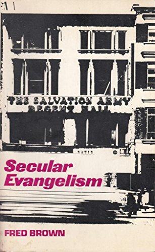 9780334014751: Secular Evangelism