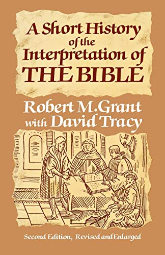 9780334015208: A Short History of the Interpretation of the Bible