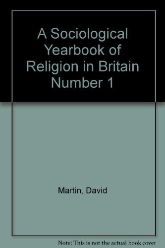 9780334015475: Sociological Yearbook of Religion in Britain: No. 1