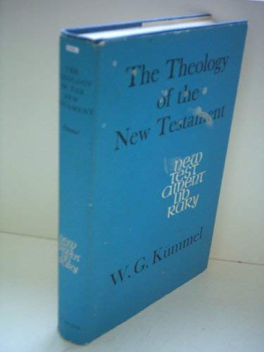 9780334016274: Theology of the New Testament (New Testament Library)