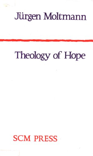 9780334016977: Theology of Hope