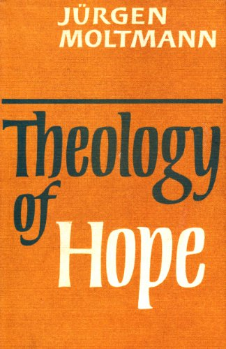 9780334017042: Theology of Hope