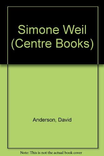 9780334017561: Simone Weil (Centre Books)