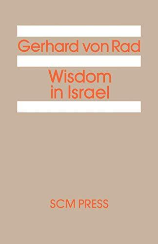 9780334017943: Wisdom in Israel