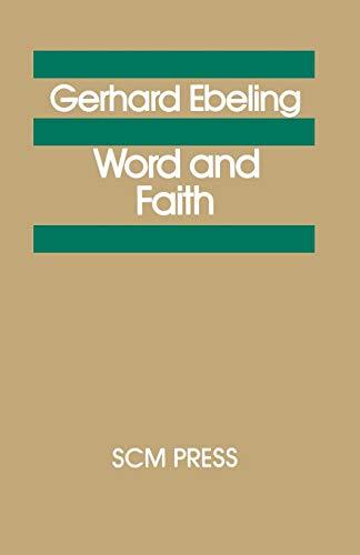 9780334018032: Word and Faith
