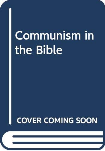 9780334018728: Communism in the Bible