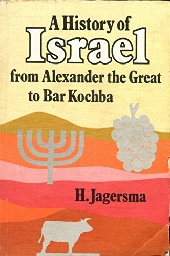 9780334020493: A History of Israel from Alexander the Great to Bar Kochba