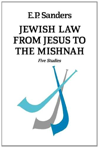 9780334021025: Jewish Law from Jesus to the Mishnah: Five Studies