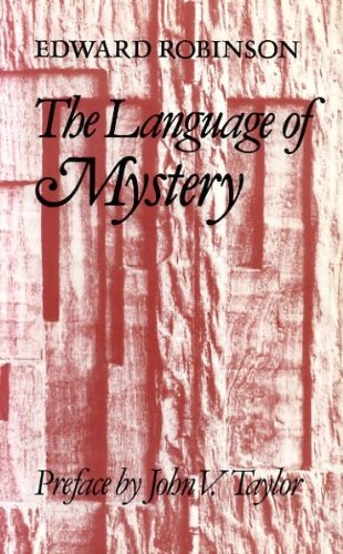 9780334021384: The Language of Mystery