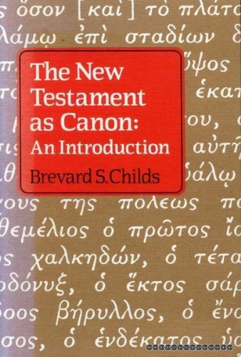 9780334022121: New Testament as Canon: An Introduction