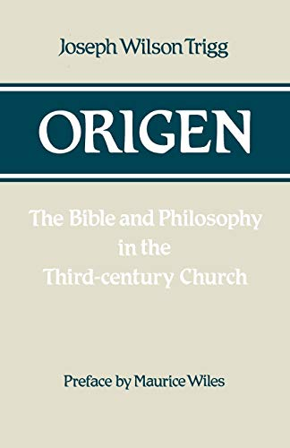 9780334022343: Origen: The Bible and Philosophy in the Third-Century Church