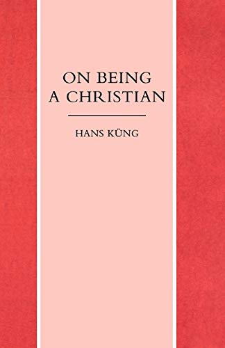9780334025177: On Being a Christian