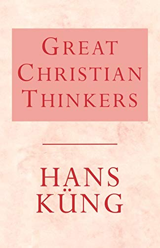 9780334025580: GREAT CHRISTIAN THINKERS