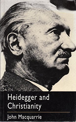 9780334025641: Heidegger and Christianity