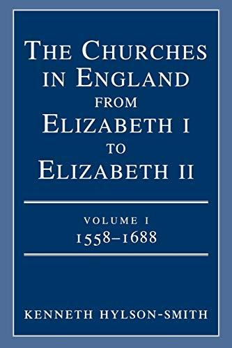 9780334026389: Churches in England Vol 1:1558-1688