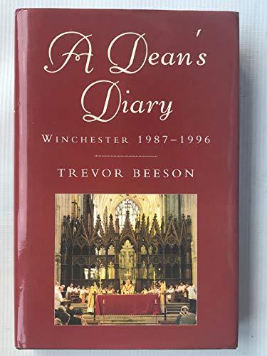 9780334027119: A Dean's Diary