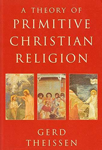 9780334027676: A Theory of Primitive Christian Religion