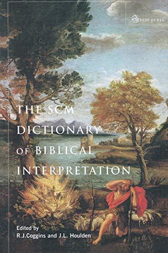 9780334029359: SCM Dictionary of Biblical Interpretation