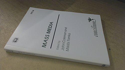 9780334030232: Concilium 1993/6 Mass Media