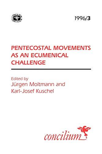9780334030386: Concilium 1996/3 Pentecostal Movements as an Ecumencial Challenge