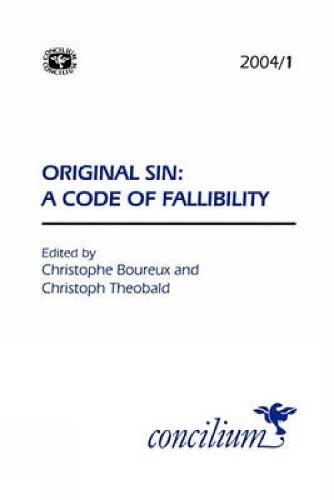 9780334030775: Concilium 2004/1 Original Sin