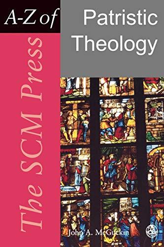 9780334040101: SCM Press A-Z of Patristic Theology