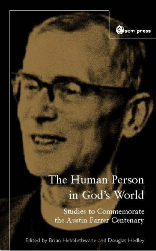 9780334041108: The Human Person in God's World: Studies to Commemorate the Austin Farrer Centenary
