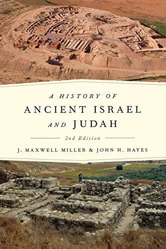 9780334041177: A History of Ancient Israel and Judah