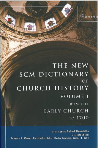 9780334042044: SCM Dictionary of Church History: From the Early Church to 1700 v. 1