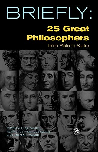 9780334042129: 25 Great Philosophers From Plato to Sartre (SCM Briefly)