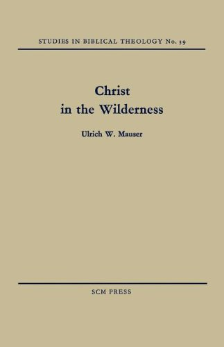 9780334047193: Christ in the Wilderness