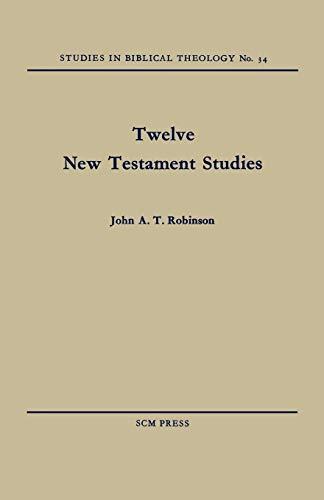 9780334047254: Twelve New Testament Studies