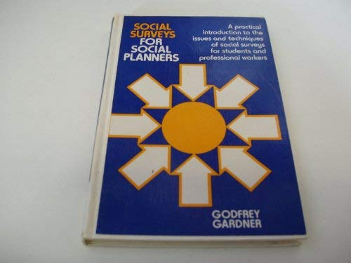 9780335002399: SOCIAL SURVEYS FOR SOC PLANNERS