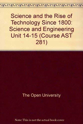 Science and Engineering Units 14-15 (Science and: Open University Press