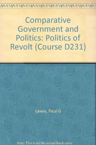 Comparative Government and Politics (Course D231) (0335019129) by Lewis, Paul G