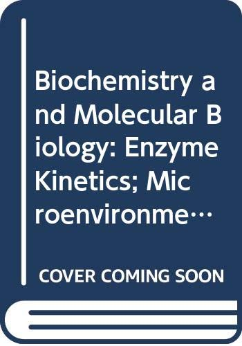 9780335044122: Biochemistry and Molecular Biology: Enzyme Kinetics; Microenvironments Unit 5-7 (Course S322)