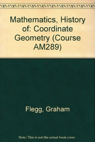 9780335050093: Mathematics, History of: Coordinate Geometry Unit 6 (Course AM289)