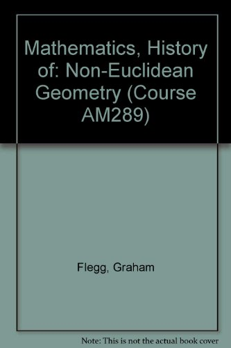 9780335050116: Mathematics, History of: Non-Euclidean Geometry Unit 8 (Course AM289)